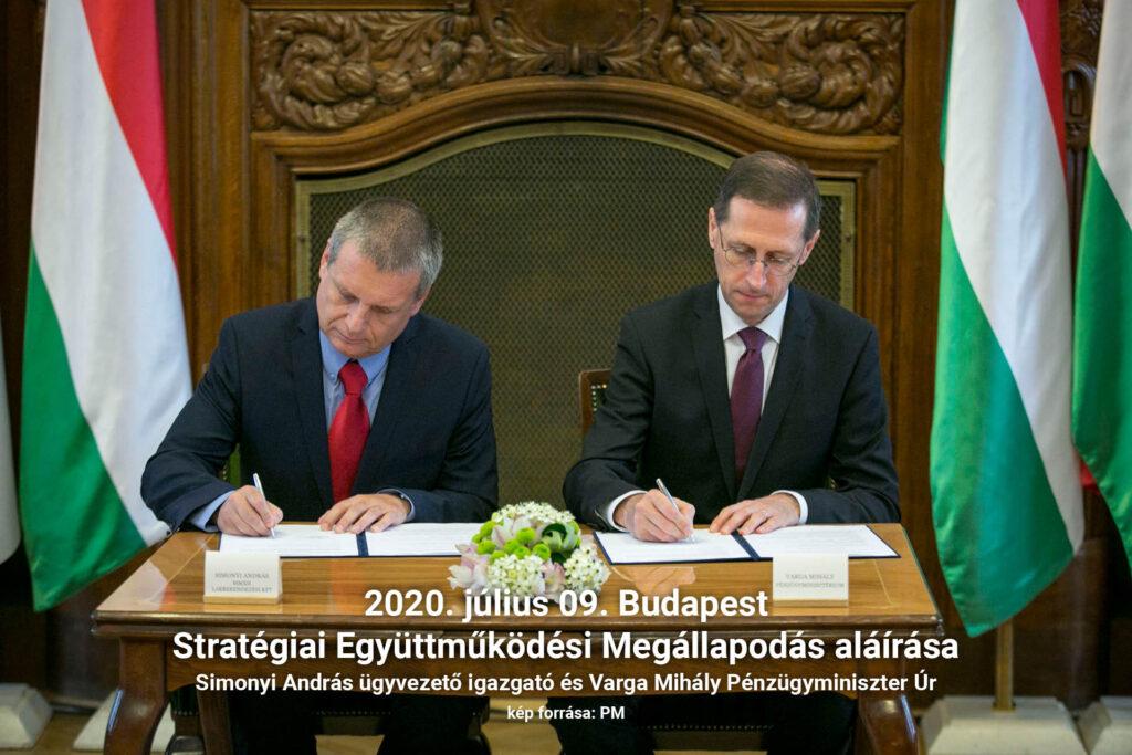 Stratégiai Együttműködési Megállapodás aláírása